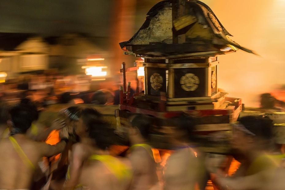 2017.07.09白山方神輿の入宮30