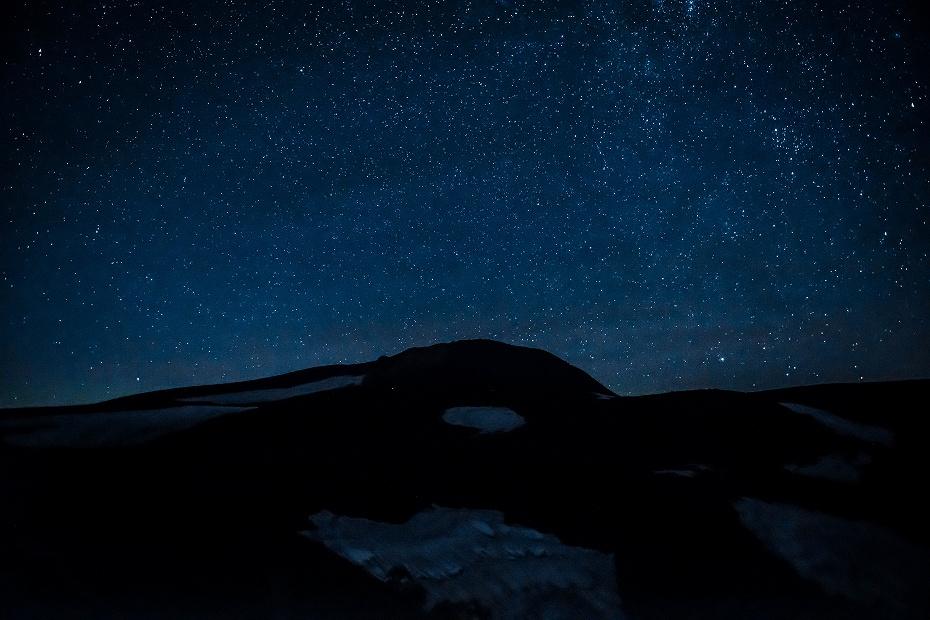 2017.07.20.1御前峰と星空