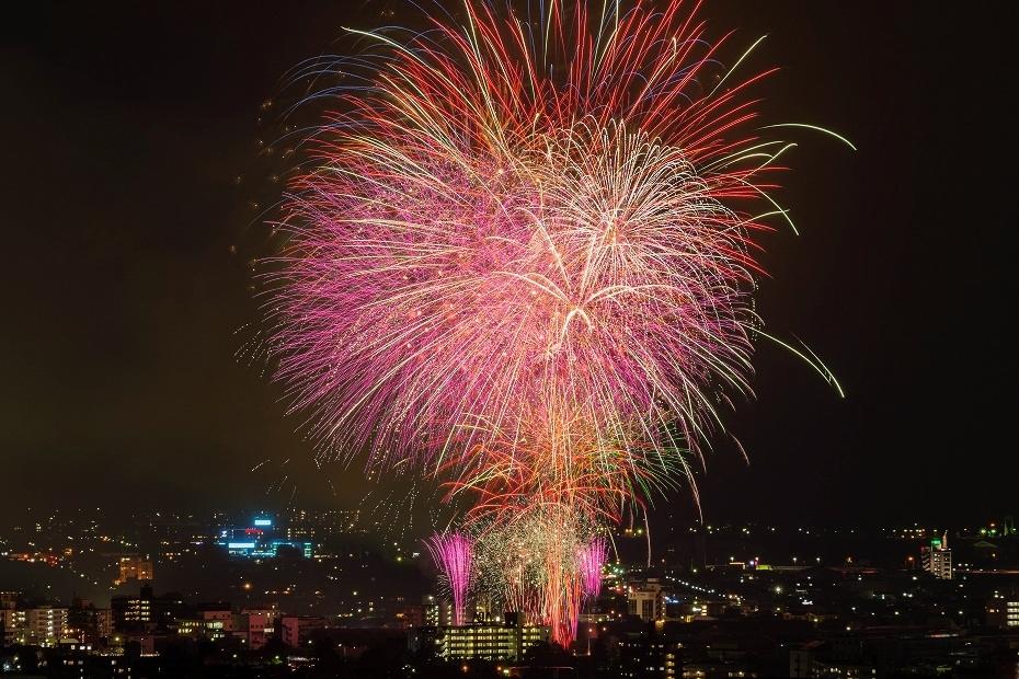 2017.07.29金沢市_犀川花火大会24_花火合成