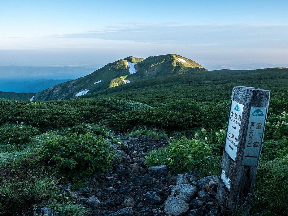 2017.08.03大汝峰から七倉の辻までの風景2
