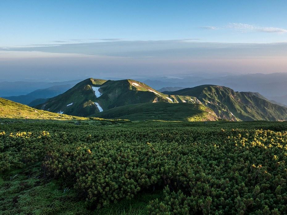 2017.08.03大汝峰から七倉の辻までの風景1