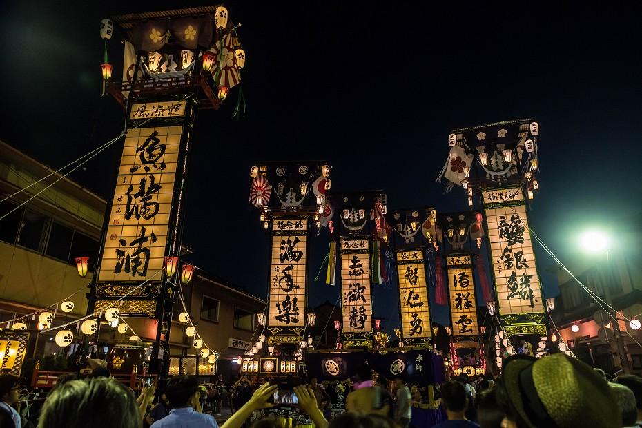 2017.08.05石崎奉燈祭_夕方から夜10