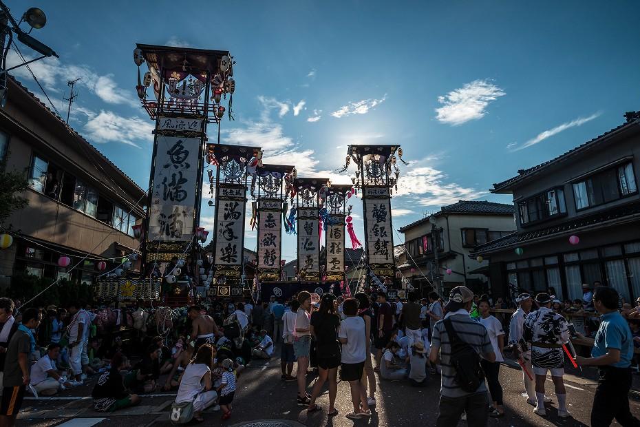2017.08.05石崎奉燈祭_夕方から夜1