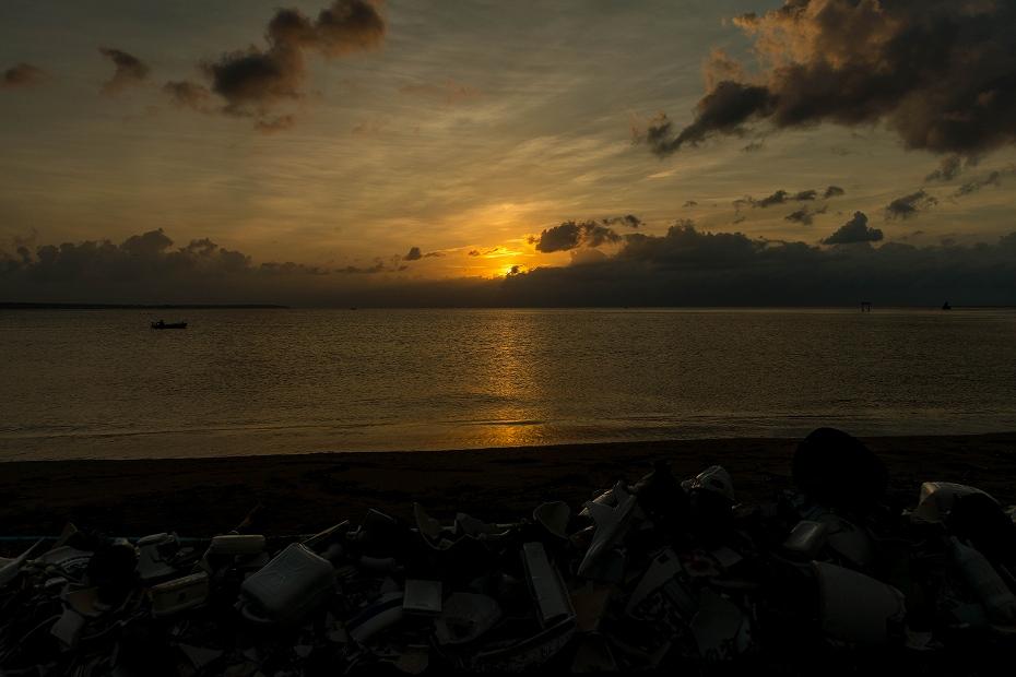 2017.08.26見附島の朝景4
