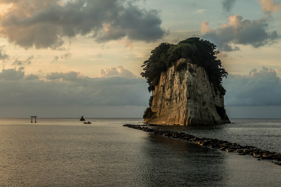 2017.08.26見附島の朝景5