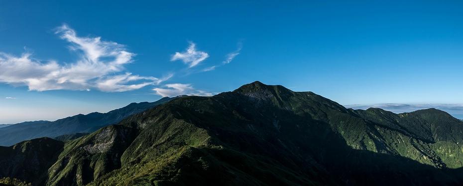 2017.08.31三ノ峰_夕焼け3