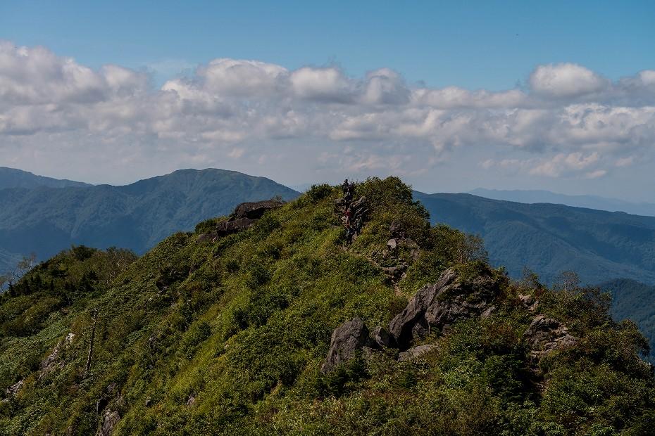 2017.09.09観光新道から白山室堂まで2