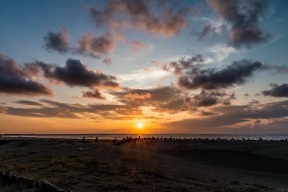 2017.09.13内灘砂丘の夕暮れ1