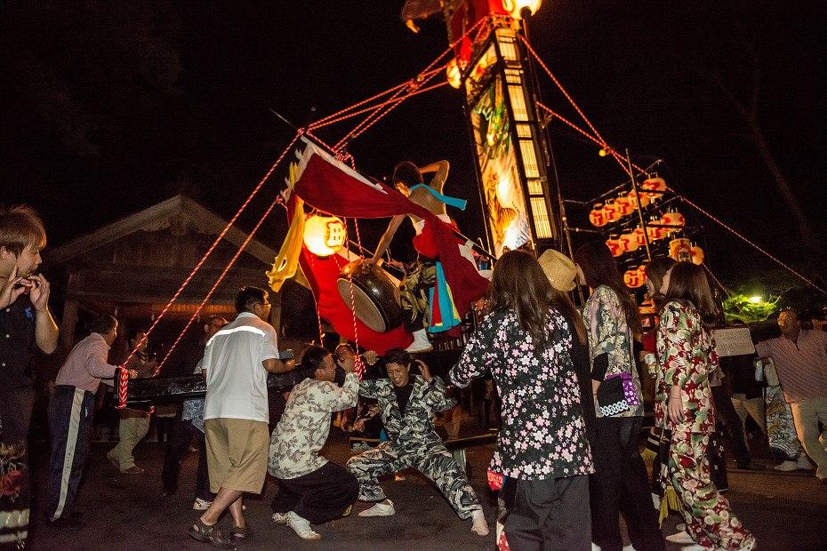 2017.09.15正院キリコ祭り_夜10