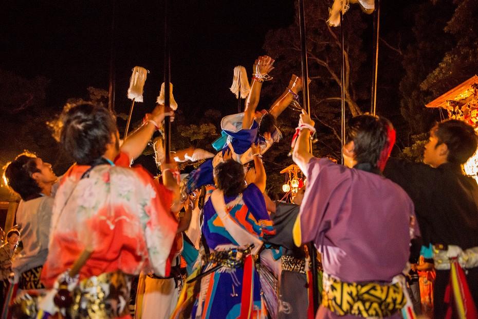 2017.09.15正院キリコ祭り_夜7