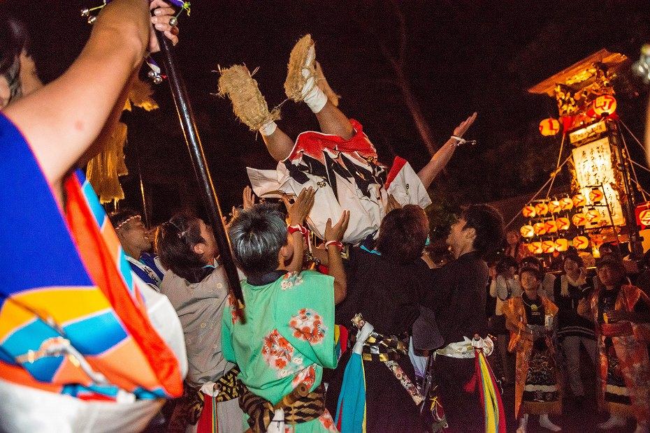 2017.09.15正院キリコ祭り_夜8