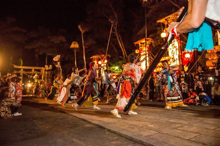 2017.09.15正院キリコ祭り_夜6