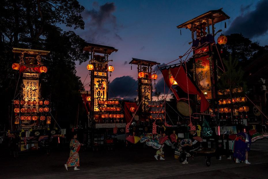 2017.09.15正院キリコ祭り_夜1
