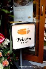 Pelican CAFE◇看板