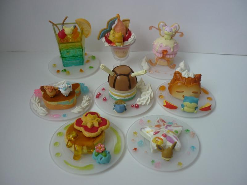 ミニフィギュアコレクション Pokemon dessert plate