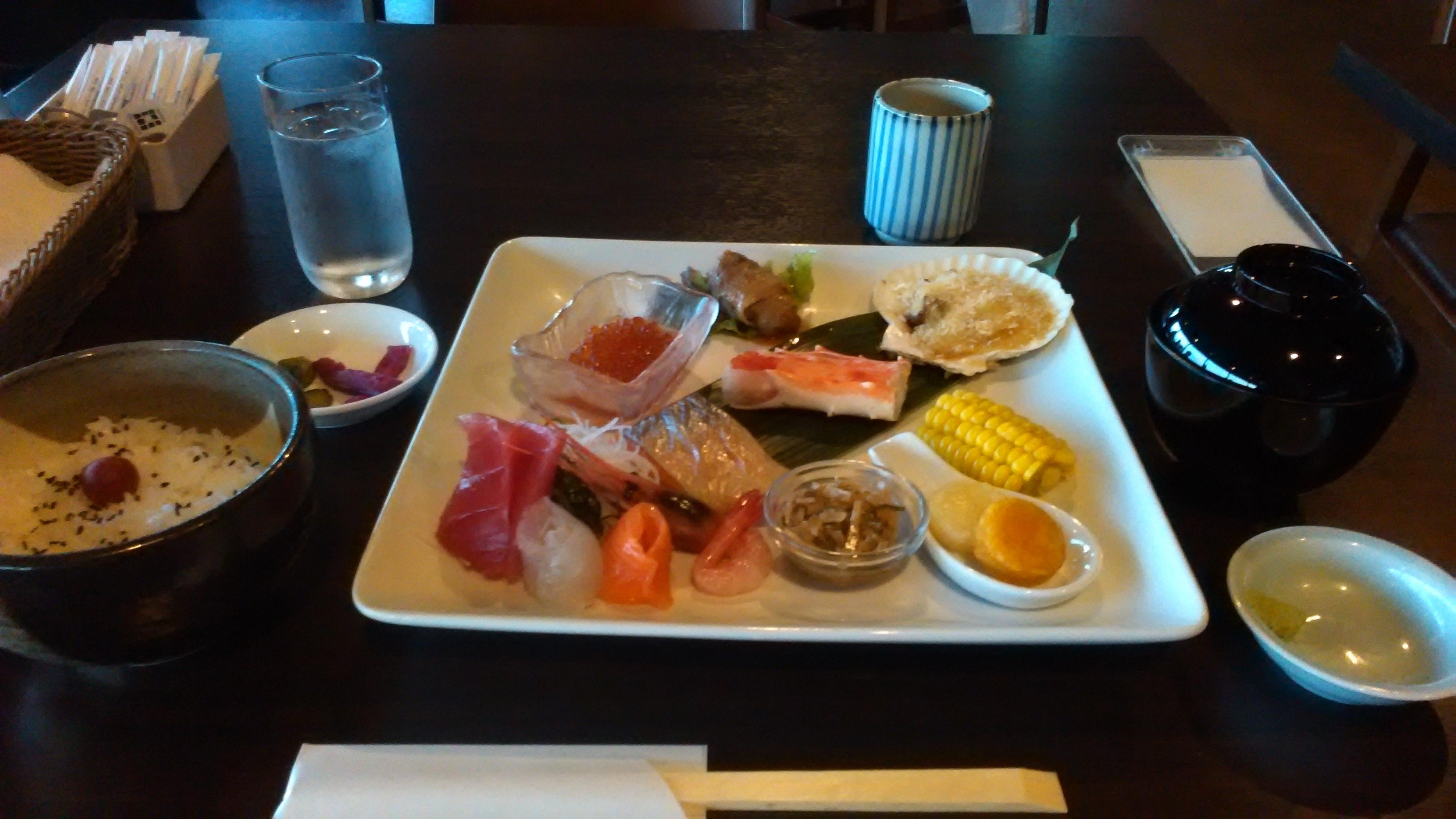 函館山 食事