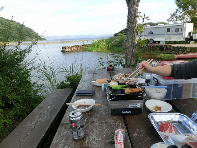 猪苗代湖キャンプの巻 040