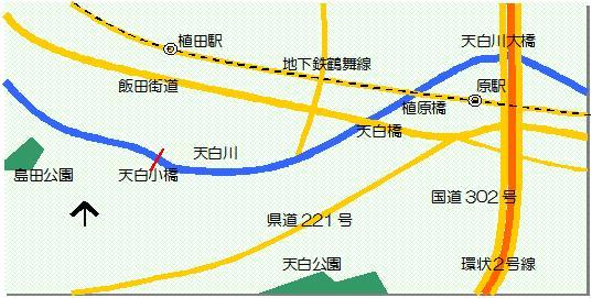 天白橋マップ