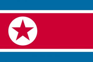 北朝鮮  国旗 ネタ