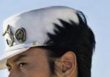 丈太郎  後頭部