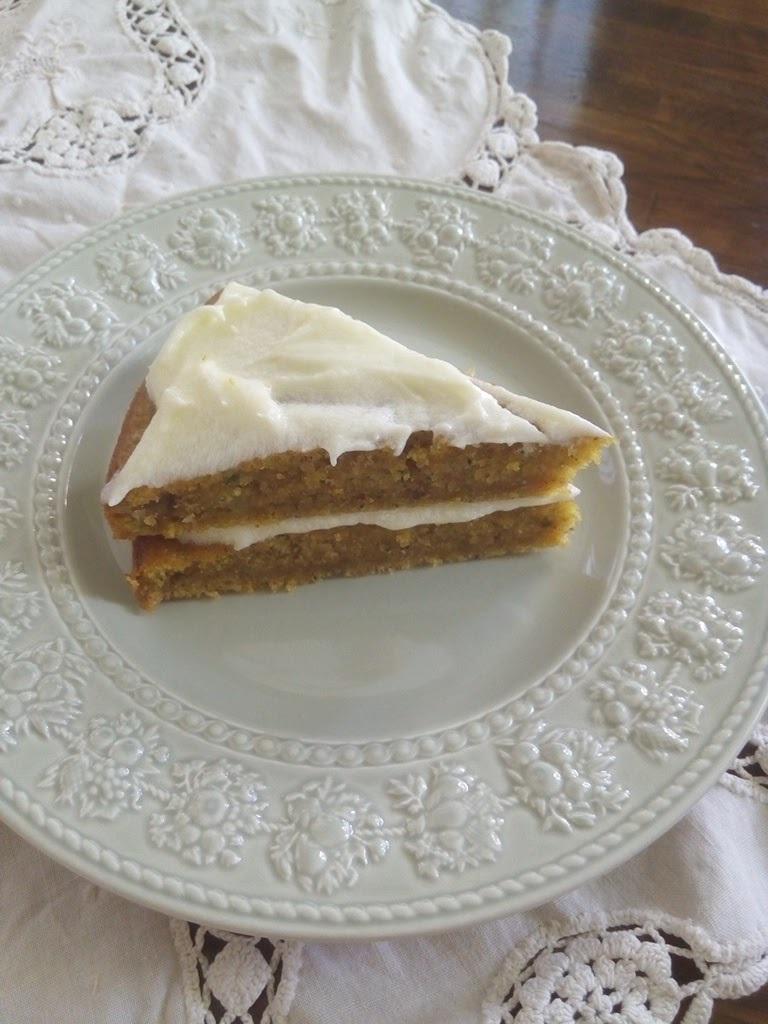 ズッキーニとにんじんのケーキ