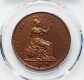 ヴィクトリア ペニー銅貨 1839年PR65 2