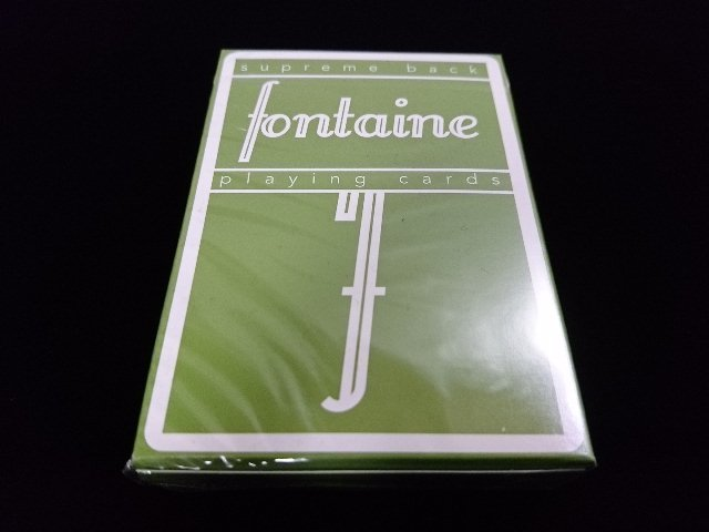 Fontain Playing Cards Green (1)