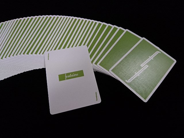 Fontain Playing Cards Green (4)
