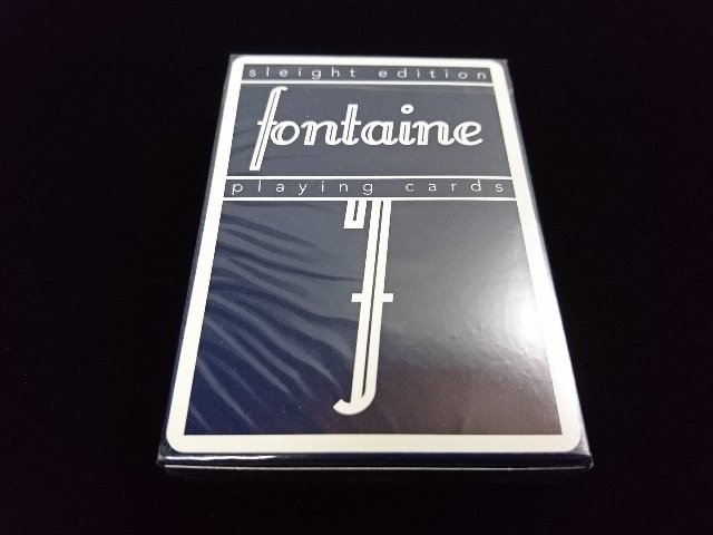Fontain Playing Cards Deep Blue (2)