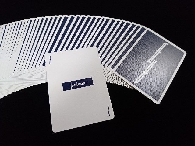 Fontain Playing Cards Deep Blue (4)