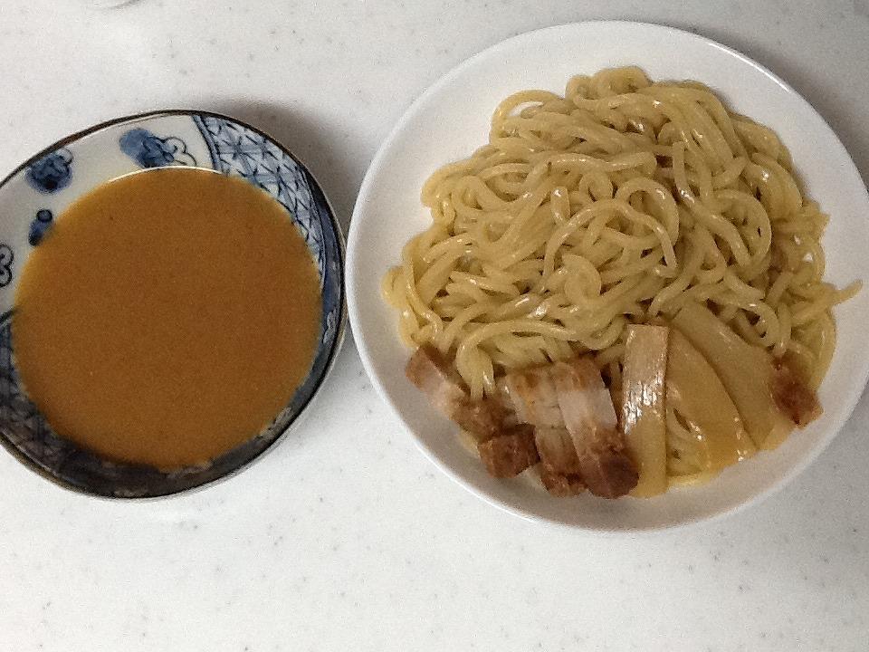 ファミマ極太つけ麺