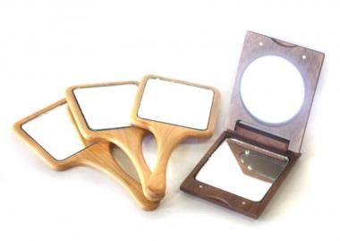 敬老の日_ササキ工芸_ミラー、木製手鏡
