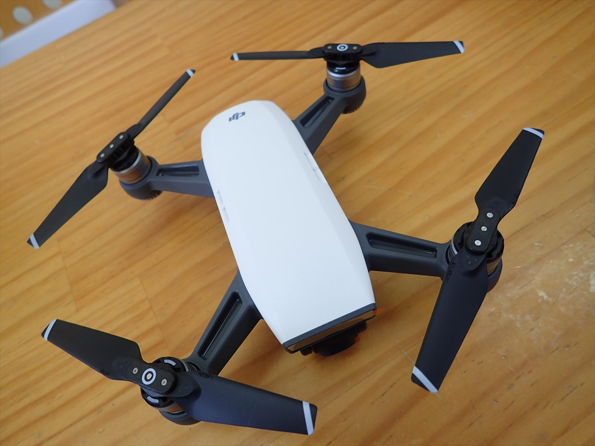DJI Spark 初フライト コンボ (1)
