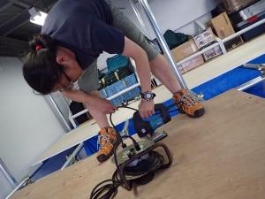 単管パイプ造作DIY (17)