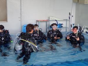 ダイビングリフレッシュコース (7)