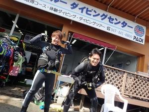白井ダイビングスクール (2)