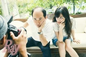 Ray2017年09月号表紙斉藤さんとコラボ