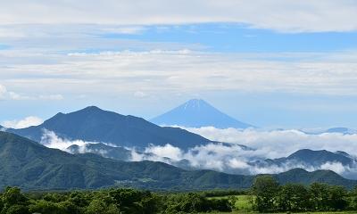 富士山 清里から (1)