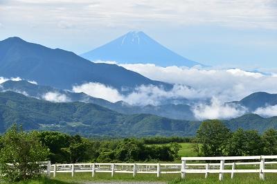 富士山 清里から (2)