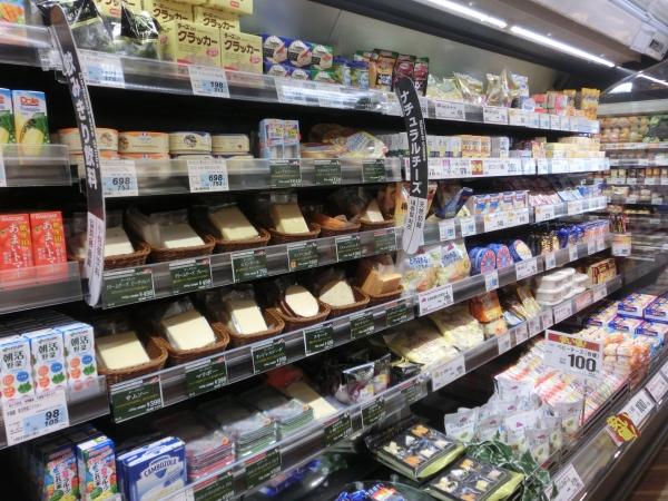 チーズ品揃え