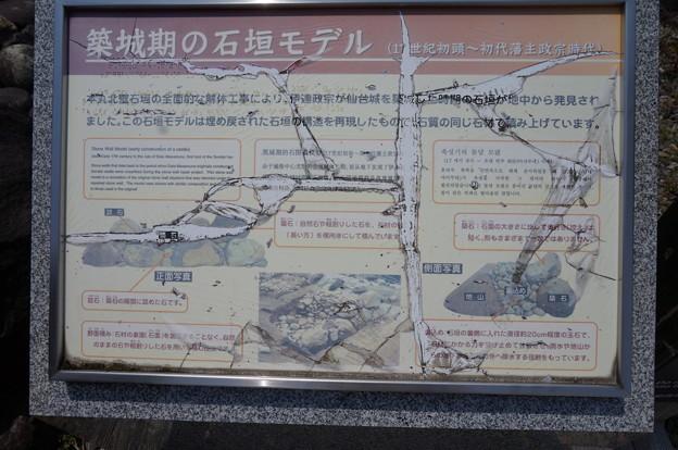 石垣の説明書