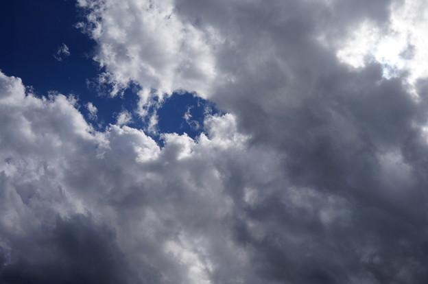 雲だらけの空