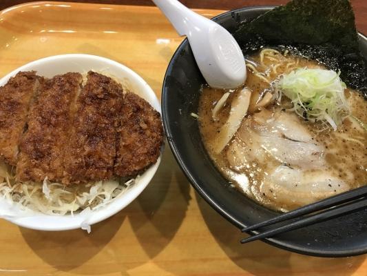 黒旨+ソースかつ丼