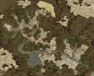 アッカーシェラン大陸MAP