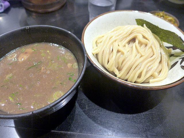 無鉄砲つけ麺 無心@04豚骨つけ麺(小) 1