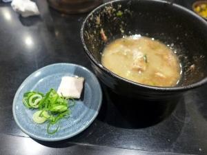 無鉄砲つけ麺 無心@04豚骨つけ麺(小) 4
