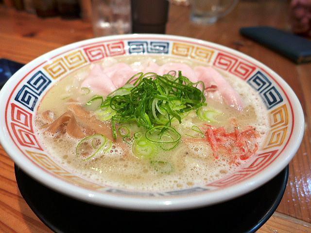 麺や 清流@07鶏白湯 塩 1