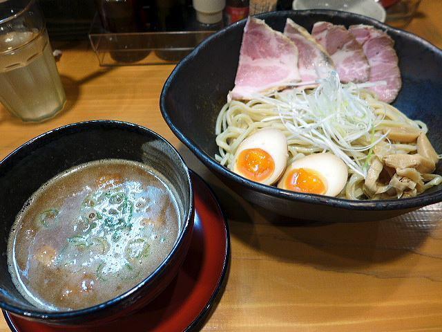 麺屋 一刃@つけ麺(並) 1