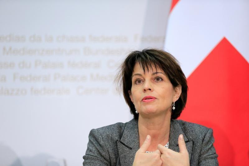 スイスのロイトハルト大統領