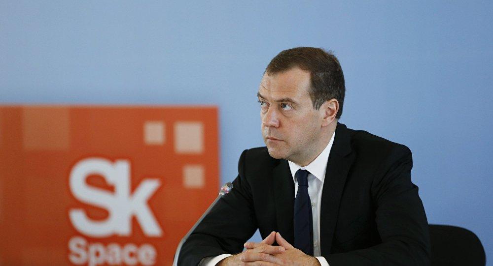ロシアのメドベージェフ首相